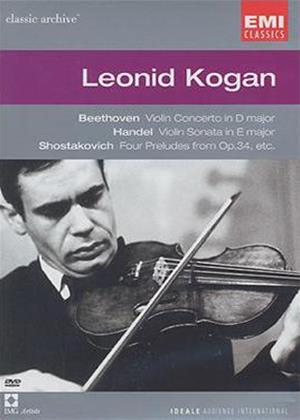 Classic Archive: Leonid Kogan Online DVD Rental