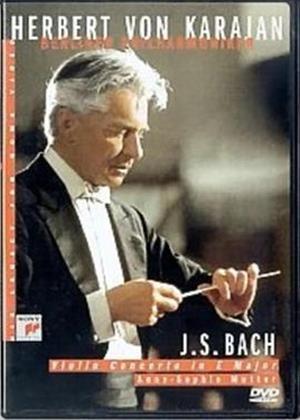 Rent Bach: Violin Concerto in E Major: Herbert Von Karajan Online DVD Rental