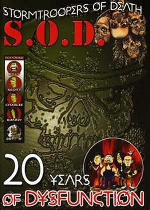 Rent S.O.D.: 20 Years of Dysfunction Online DVD Rental
