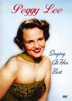 Peggy Lee: Singing at Her Best Online DVD Rental