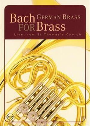 Rent German Brass Ensemble: Live from St. Thomas' Church Leipzig Online DVD Rental