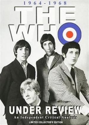 The Who: Under Review 1964 to 1968: A Critical Analysis Online DVD Rental