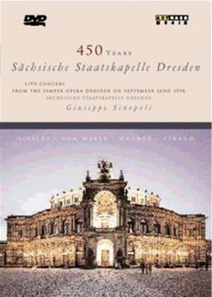 450 Years: Sachsische Staatskapelle Dresden Online DVD Rental