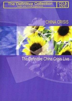 Rent China Crisis: The Definitive China Crisis Online DVD Rental
