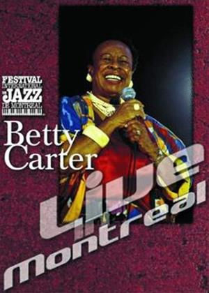 Betty Carter: Live in Montreal Online DVD Rental
