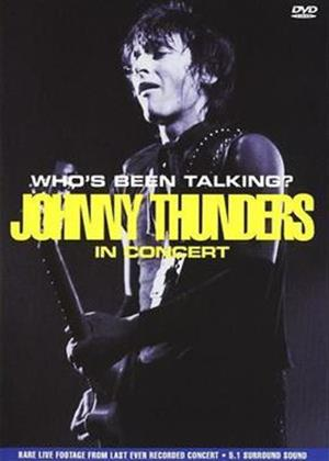 Rent Johnny Thunders: Who's Been Talking Online DVD Rental