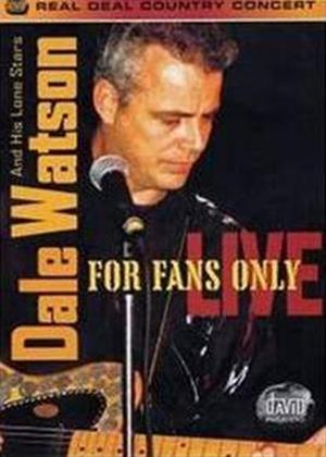 Dale Watson: For Fans Only: Live Online DVD Rental