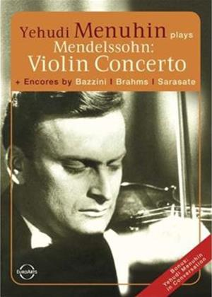 Rent Yehudi Menuhin: Plays Mendelssohn Online DVD Rental