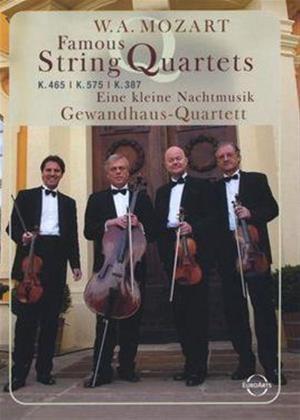 Mozart: Famous String Quartets Online DVD Rental