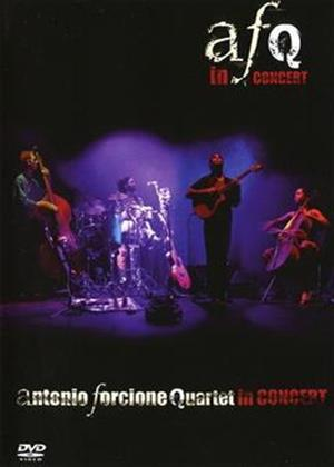 Antonio Forcione Quartet: In Concert Online DVD Rental