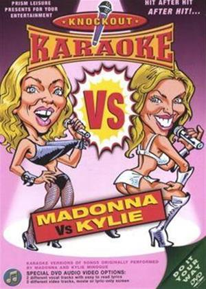 Rent Knockout Karaoke: Madonna Vs Kylie Online DVD Rental