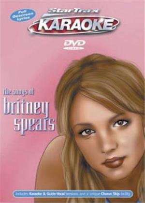 Rent Startrax Karaoke: The Songs of Britney Spears Online DVD Rental