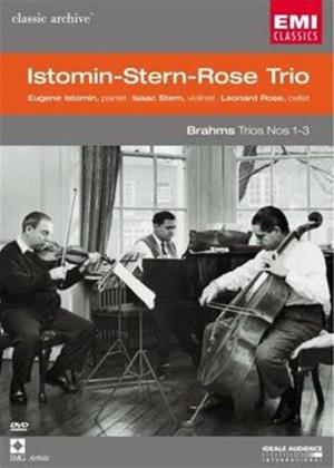 Rent Brahms Trios Nos. 1 to 3: Istomin Stern Rose Trio Online DVD Rental