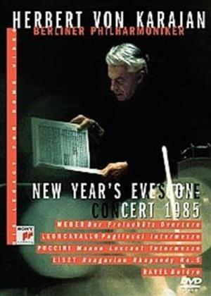 Rent Herbert Von Karajan: New Year's Eve Concert Online DVD Rental