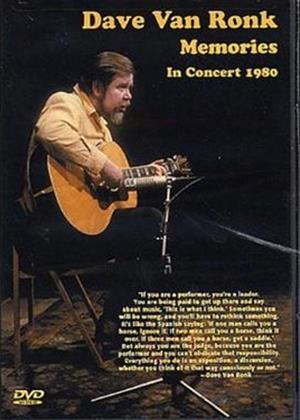 Rent Dave Van Ronk: Memories in Concert Online DVD Rental