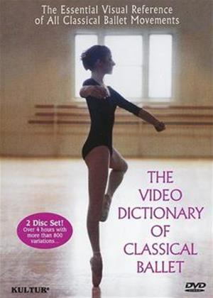 Rent The Video Dictionary of Classical Ballet Online DVD Rental