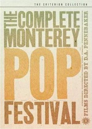 Rent Complete Monterey Pop Festival Online DVD Rental