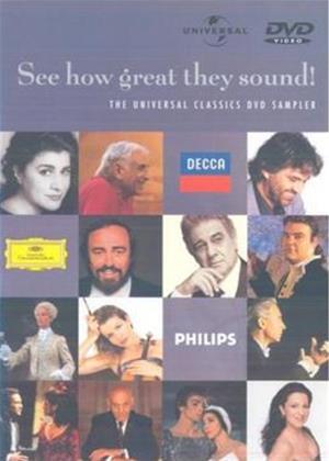 Rent Classical Music DVD Sampler Online DVD Rental