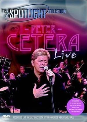 Peter Cetera: Live Online DVD Rental