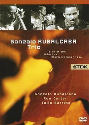 Rent Gonzalo Rubalcaba Trio: Live at the Munchner Klaviersommer Online DVD Rental
