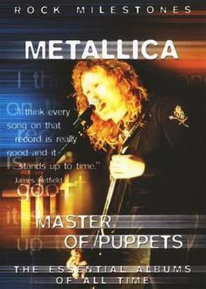 Rent Metallica: Master of Puppets Online DVD Rental