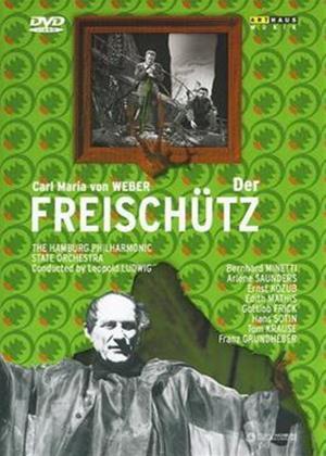 Weber: Der Freischutz: Hamburg State Opera Online DVD Rental