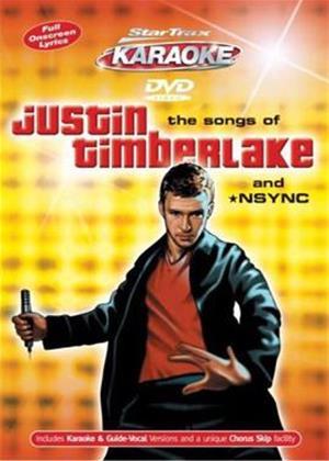 Startrax Karaoke: Justin Timberlake / NSYNC Online DVD Rental