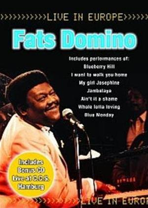 Fats Domino and Band: Live in Europe Online DVD Rental
