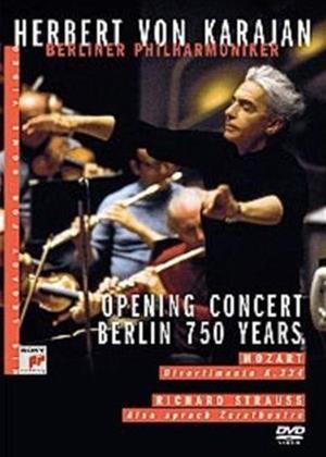 Rent Herbert Von Karajan: Opening Concert: Berlin 750 Years Online DVD Rental