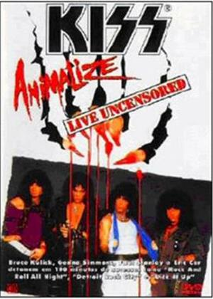 Kiss: Animalize Live and Uncensored Online DVD Rental