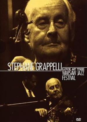Rent Stephane Grappelli: Live at the Warsaw Festival Online DVD Rental