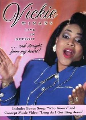 Rent Vickie Winans: Live in Detroit Online DVD Rental