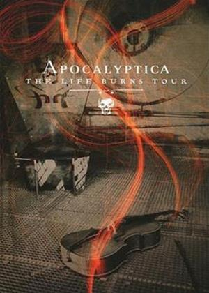 Apocalyptica: The Life Burns Tour Online DVD Rental