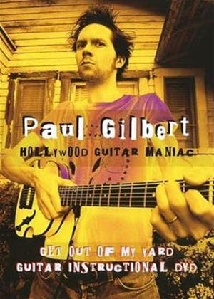 Paul Gilbert: Get Out of My Yard Online DVD Rental
