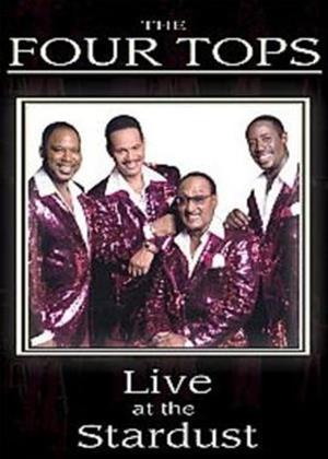 Rent The Four Tops: Live at the Stardust Online DVD Rental