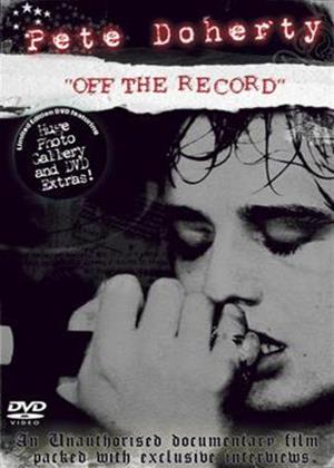 Pete Doherty: Off the Record Online DVD Rental