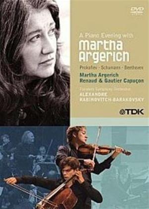Rent Martha Argerich: A Piano Evening with Martha Argerich Online DVD Rental