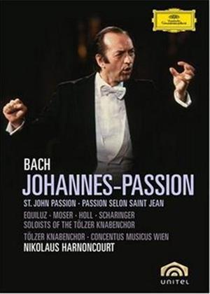 Bach: St John's Passion: Nikolaus Harnoncourt Online DVD Rental