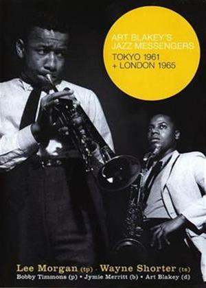 Rent Art Blakey's Jazz Messengers: Tokyo 1961, London 1965 Online DVD Rental
