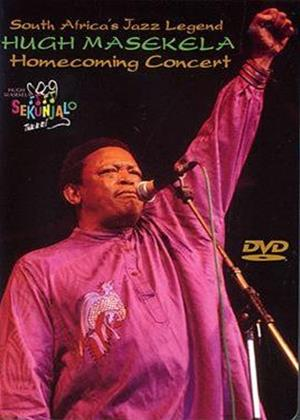 Hugh Masekela: Homecoming Concert Online DVD Rental