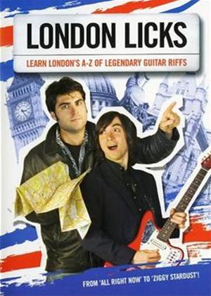 Rent London Licks Online DVD Rental