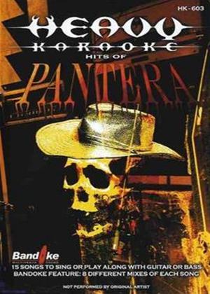 Heavy Karaoke: Hits of Pantera Online DVD Rental