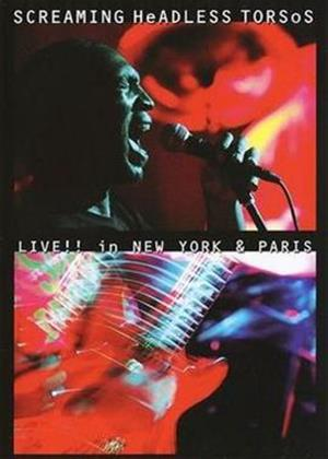 Screaming Headless Torsos: Live in New York and Paris Online DVD Rental