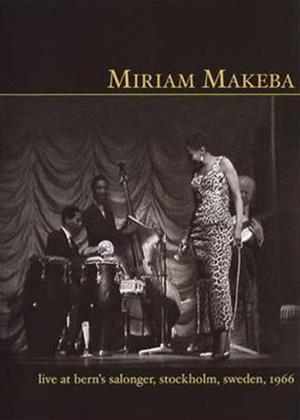 Rent Miriam Makeba: Live at Bern's Salonger Online DVD Rental