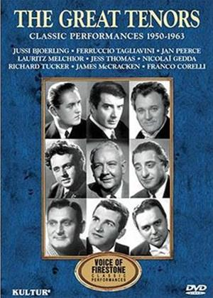 The Great Tenors: Classic Performances 1950-1963 Online DVD Rental