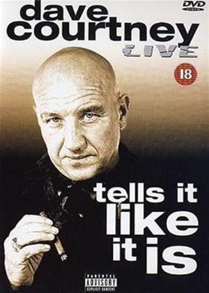 Dave Courtney: Tells It Like It Is: Live Online DVD Rental