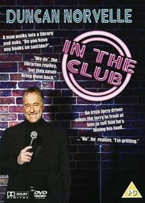 Rent Duncan Norvelle: In the Club Online DVD Rental