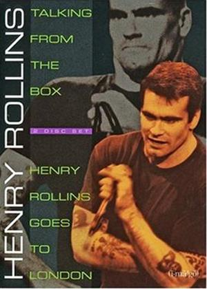 Rent Henry Rollins: Talking from the Box / Goes to London Online DVD Rental
