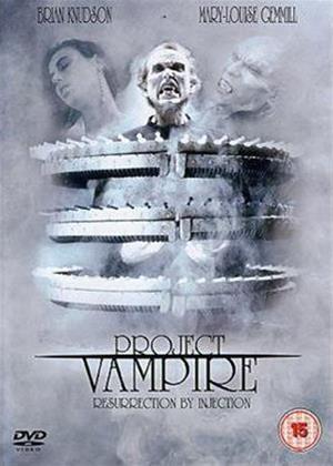 Rent Project Vampire Online DVD Rental