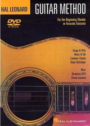Rent Hal Leonard Guitar Method for the Beginning Electric or Acoustic Guitarist Online DVD Rental